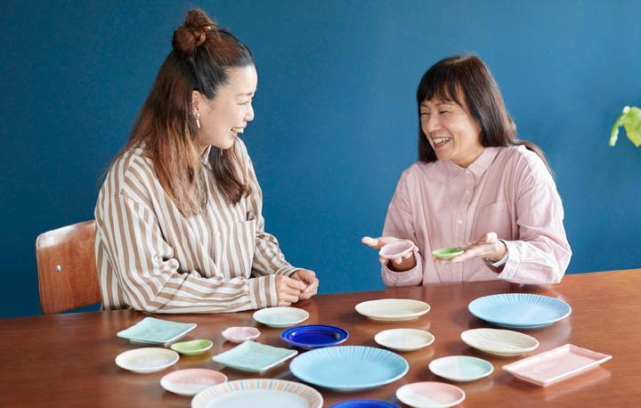 どれ選ぶ? どう使う? 皿のつくり手とスタイリストが語る「あいあい皿」の魅力