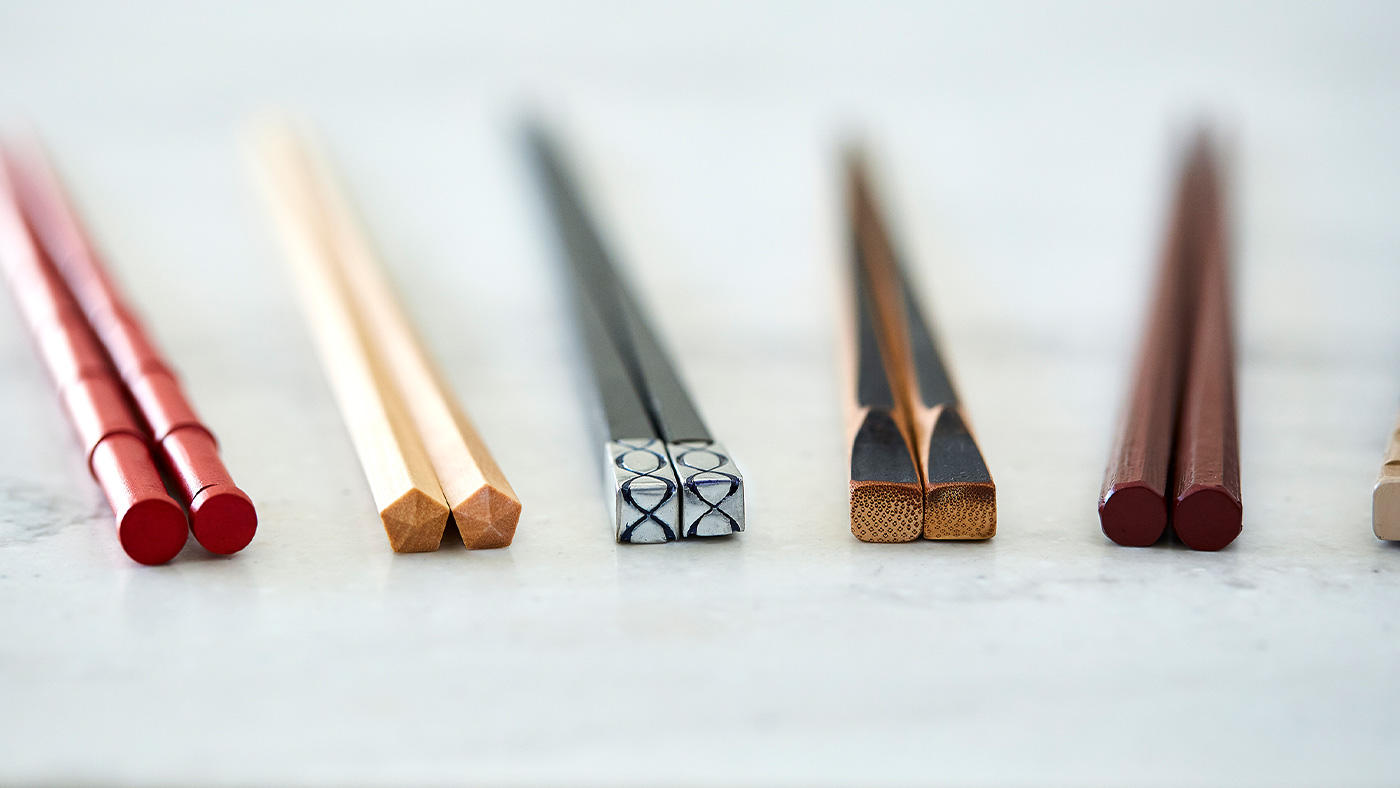 「箸は手の延長の道具だからひとりひとり違うもの」のイメージ
