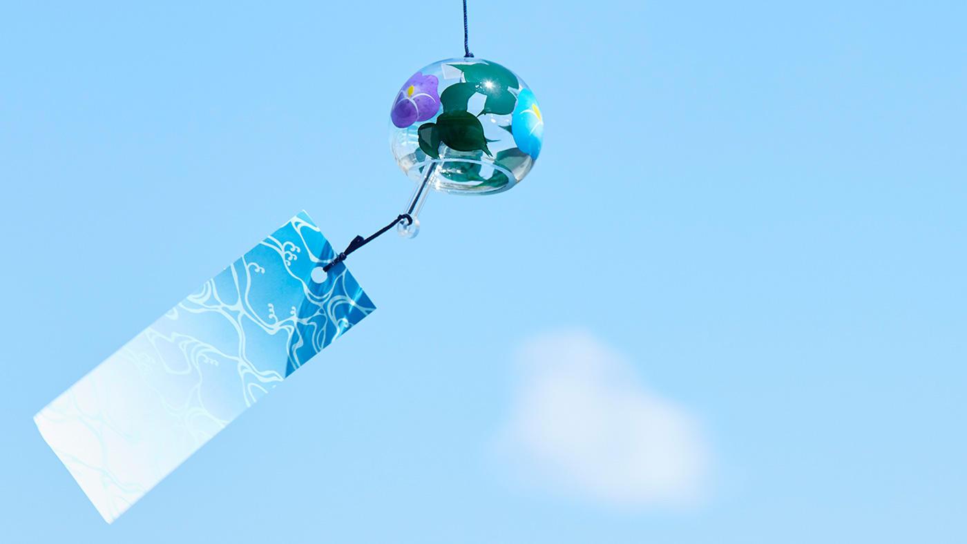 「涼やかな音に癒される風鈴とたのしむ夏」のイメージ