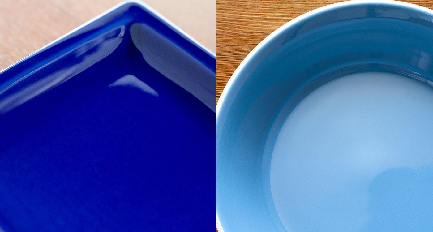 """「日本の伝統色から生まれた""""藍""""のバリエーション」のイメージ"""