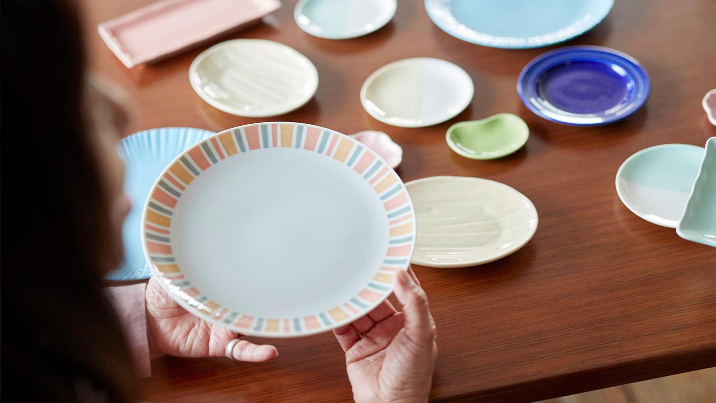 「今年はリクエストの多かった「大皿」が初登場!過去最多のカラーバリエーション」のイメージ
