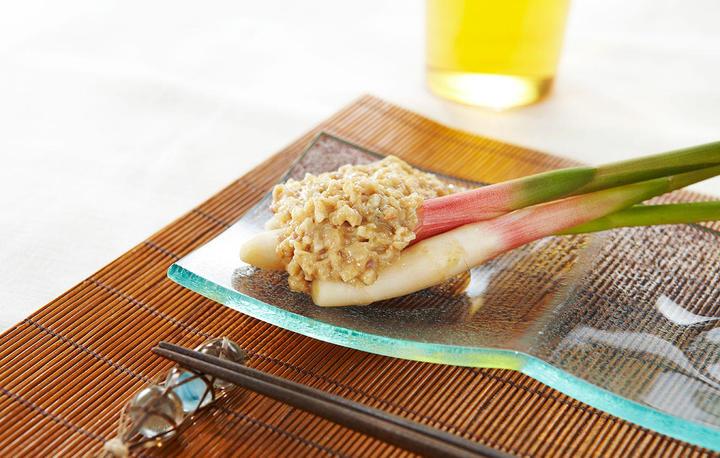 谷中生姜と鯵のなめろうディップ