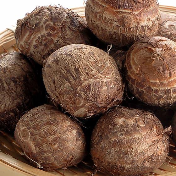 旬の食材・里芋の写真
