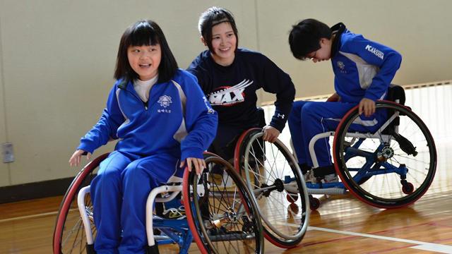 【第1期奨励金】チャレンジド・アスリート紹介④ 車椅子バスケ・高瀬聖奈選手