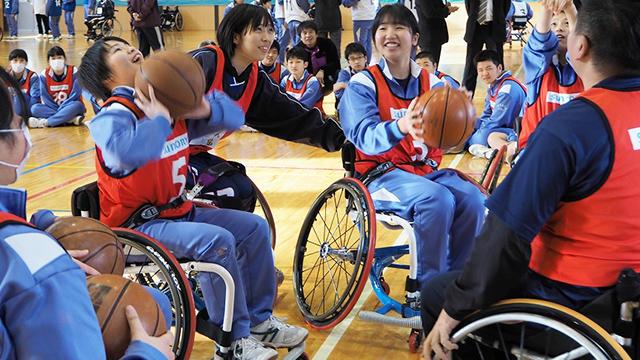 北田選手も参加!福島県飯舘中学校で「第25回アスリート・ビジット」開催