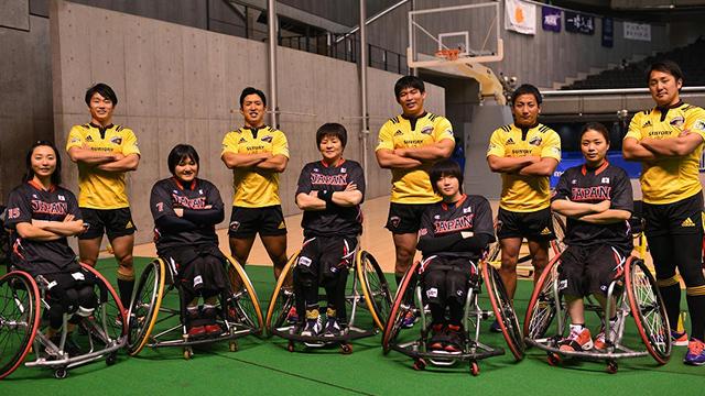 東京体育館にて、東北の選手などによる体験教室を開催