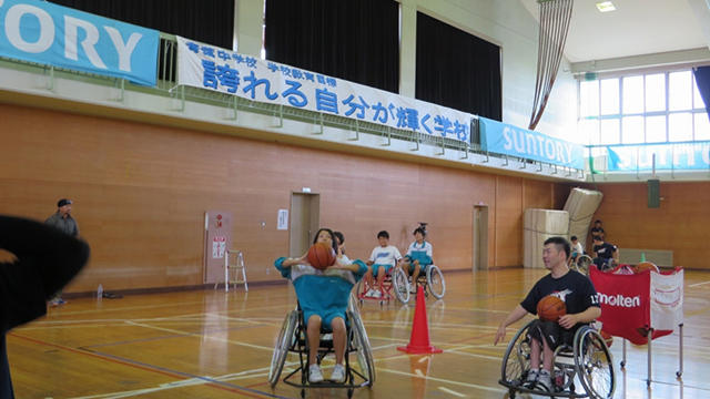 宮城県石巻市で「第1回 チャレンジド・アスリートビジット」を開催