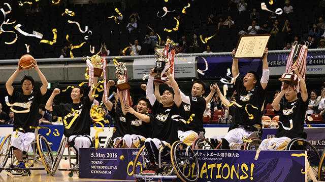 車椅子バスケ日本選手権に「宮城MAX」と「TEAM EARTH」が出場!