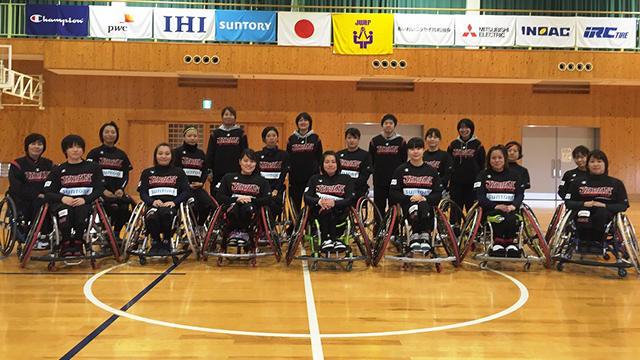 車椅子バスケ女子日本代表候補選手の強化合宿(高知県)に東北の選手3名が参加!