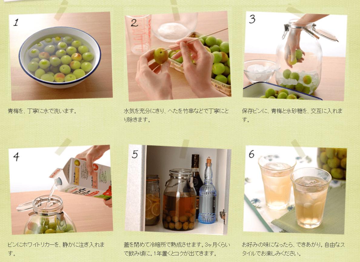 梅酒 作り方 焼酎