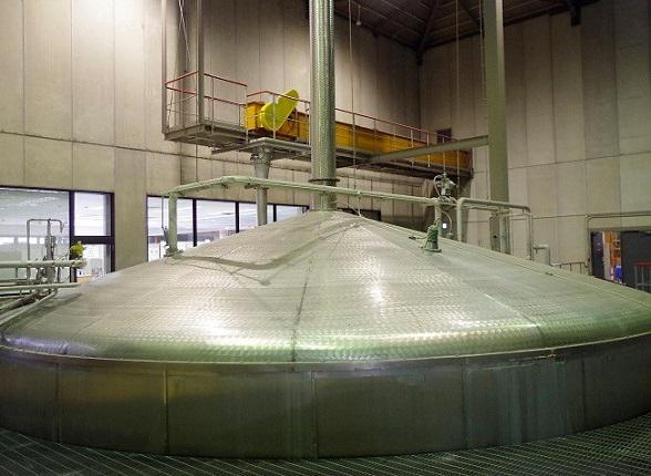 白州蒸溜所の仕込み槽