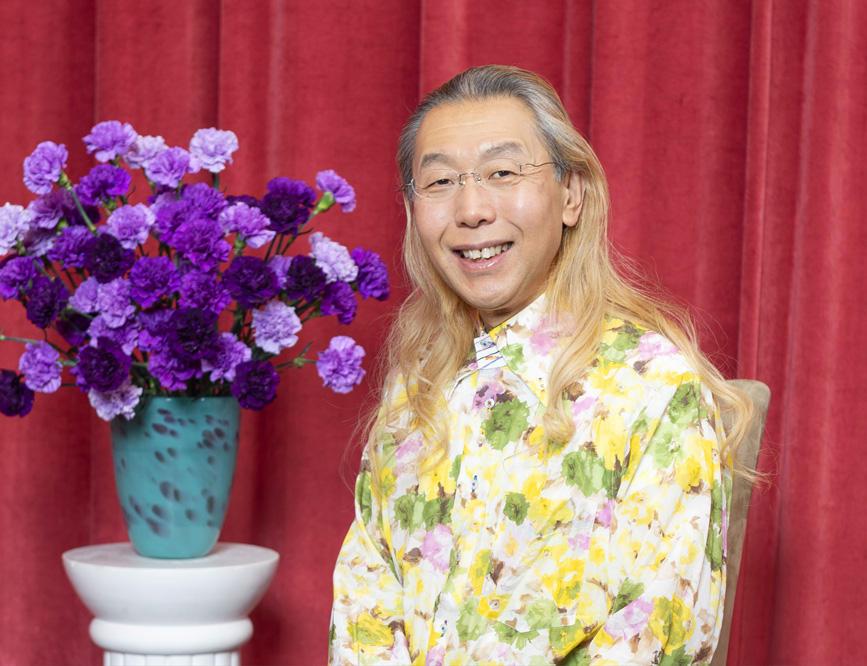 あしたの花インタビュー 假屋崎省吾さん〈前編〉