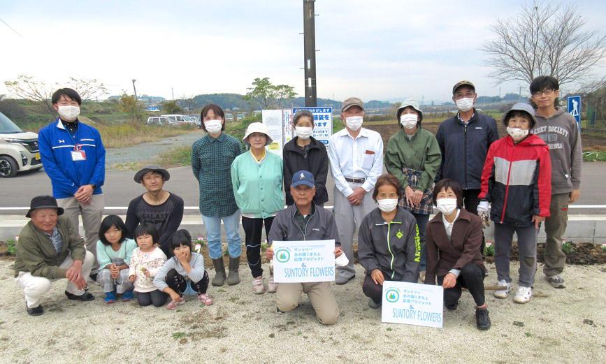 花で癒しを 熊本復興支援活動