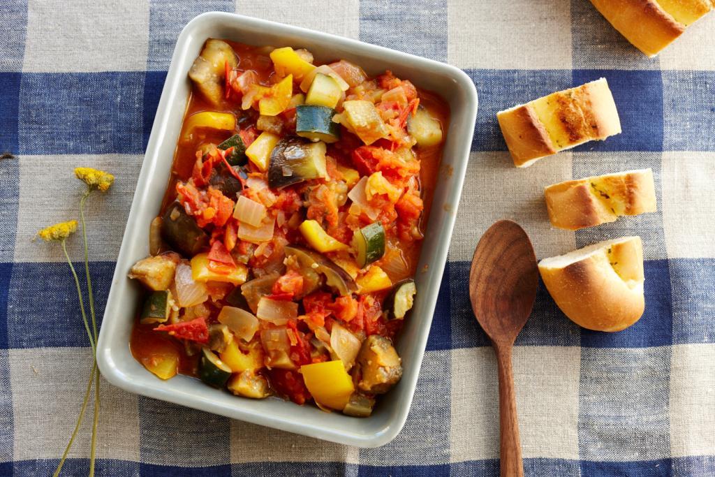 本気野菜のラタトゥイユ