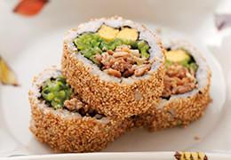 本気野菜ゴーヤ沖縄風裏巻き寿司