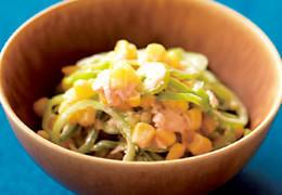 本気野菜グルメピーマン若穫りライムホルンとツナのサラダ