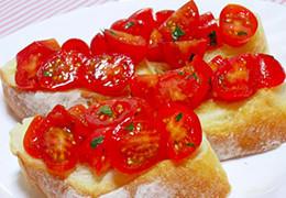 本気野菜トマト純あまのブルスケッタ