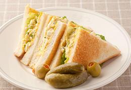 大人の卵サンドイッチ
