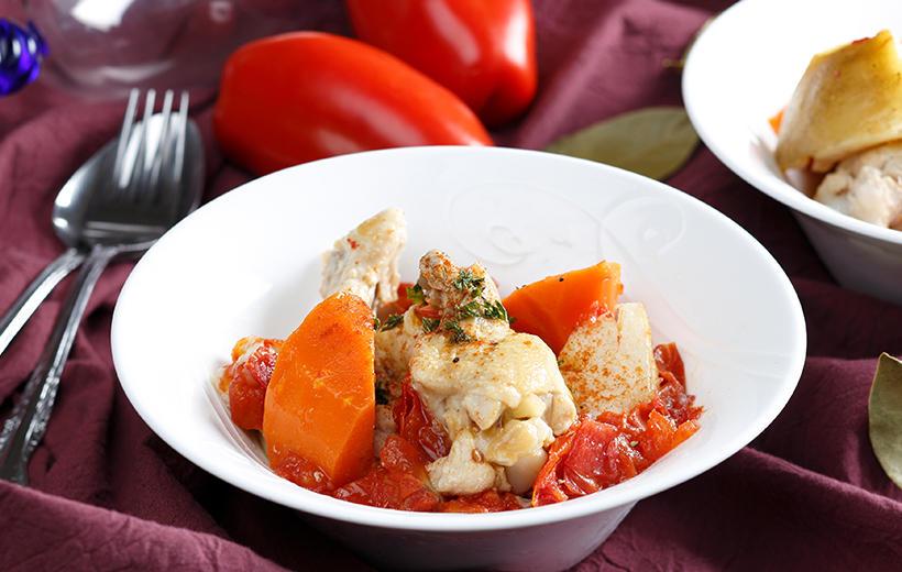 トマトと鳥手羽の炊飯器煮込み