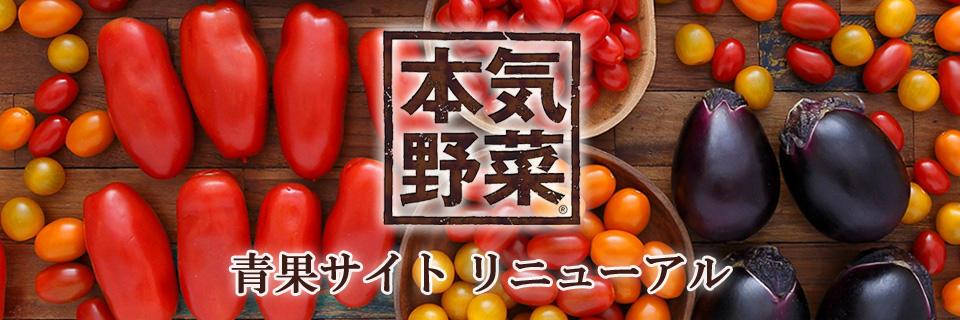 サントリー本気野菜青果 ブランドサイト