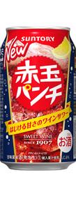赤玉パンチ350ml缶