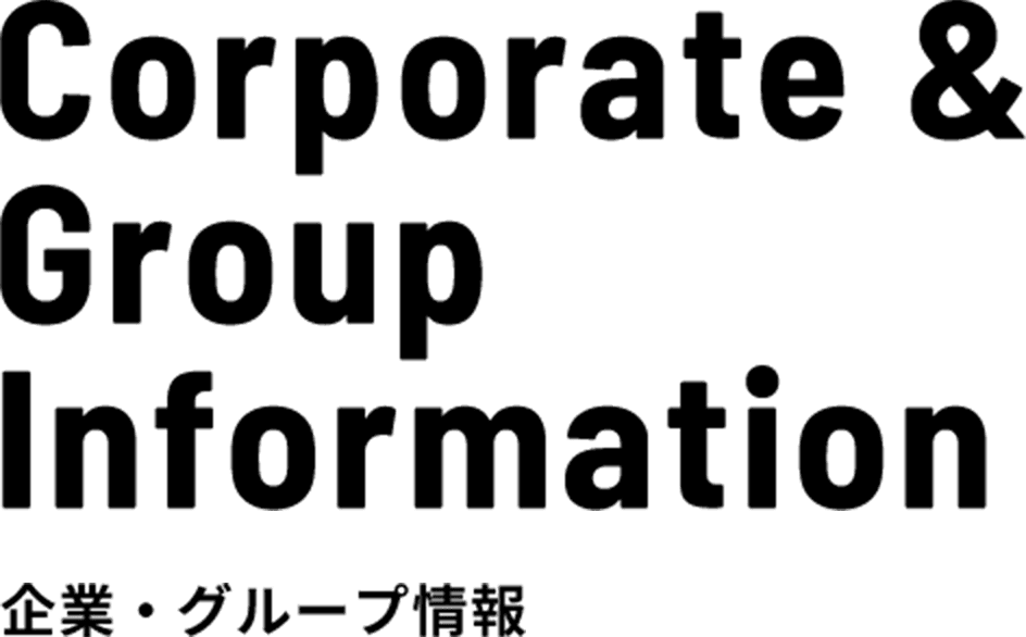 Corporate & Group  Information