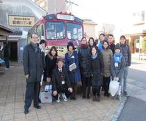 留学生たちと訪ねた「豊後高田 昭和の町」