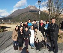 留学生たちと訪ねた「由布院 自然と文化のまちづくり」