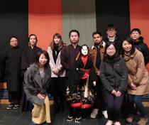 留学生と訪れた熊本県山都町