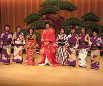 中国人留学生と訪ねた「土佐絵金歌舞伎伝承会」