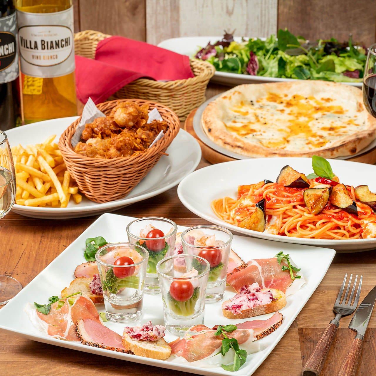 千葉_イタリア食堂 ポルチェリーノ ペリエ千葉店_写真2