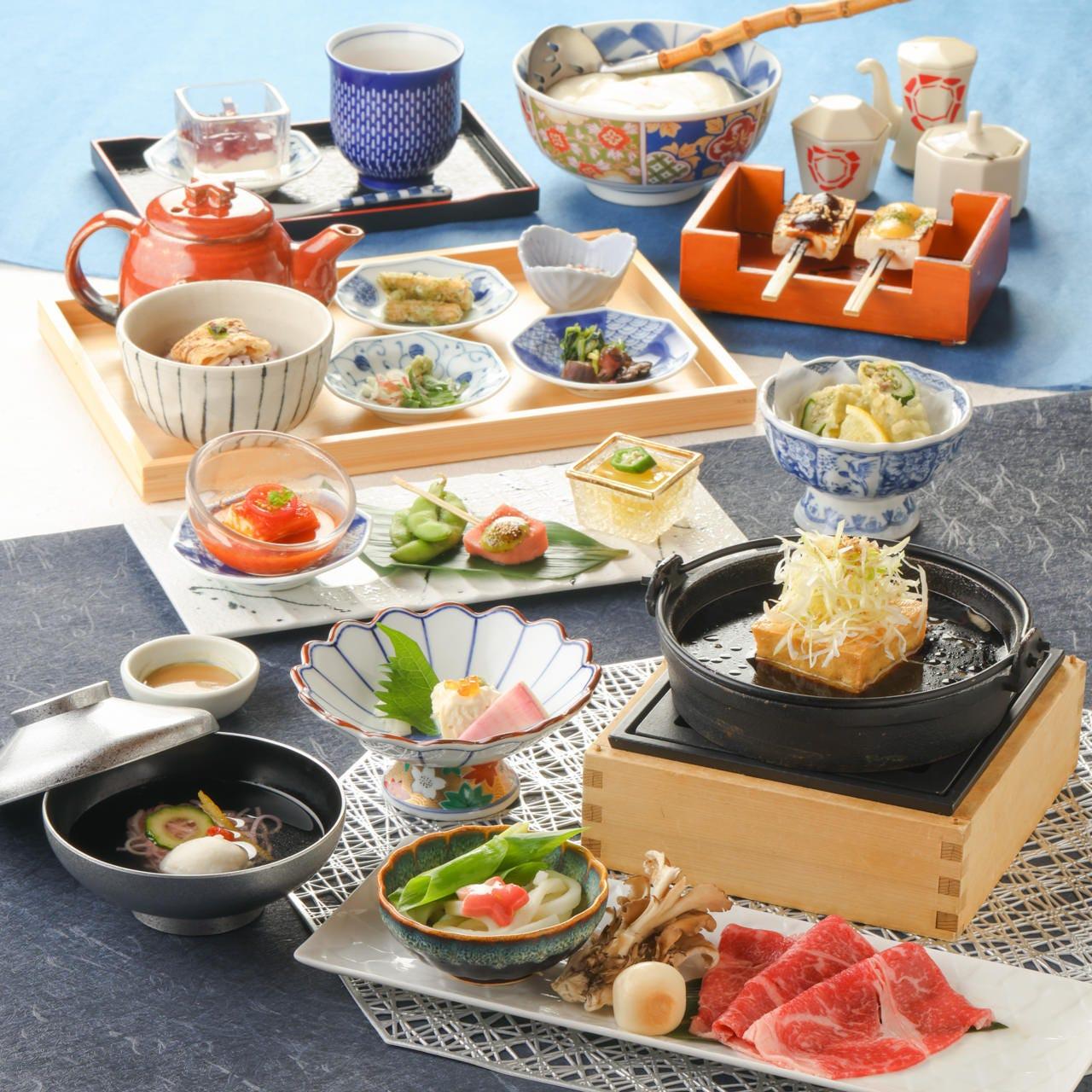 豆富料理と吟醸蒸し 八かく庵 大阪ステーションシティ店のイメージ写真