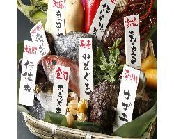銀座_旬薫のさかなと野菜<独楽別院>金の独楽 Kinnokoma_写真2