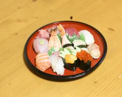 奈良県中/南部_寿司の有甚_写真