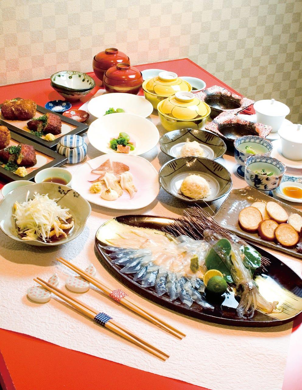 活イカ料理 いっかのイメージ写真