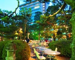 三翠園 庭園ビアガーデンのイメージ写真