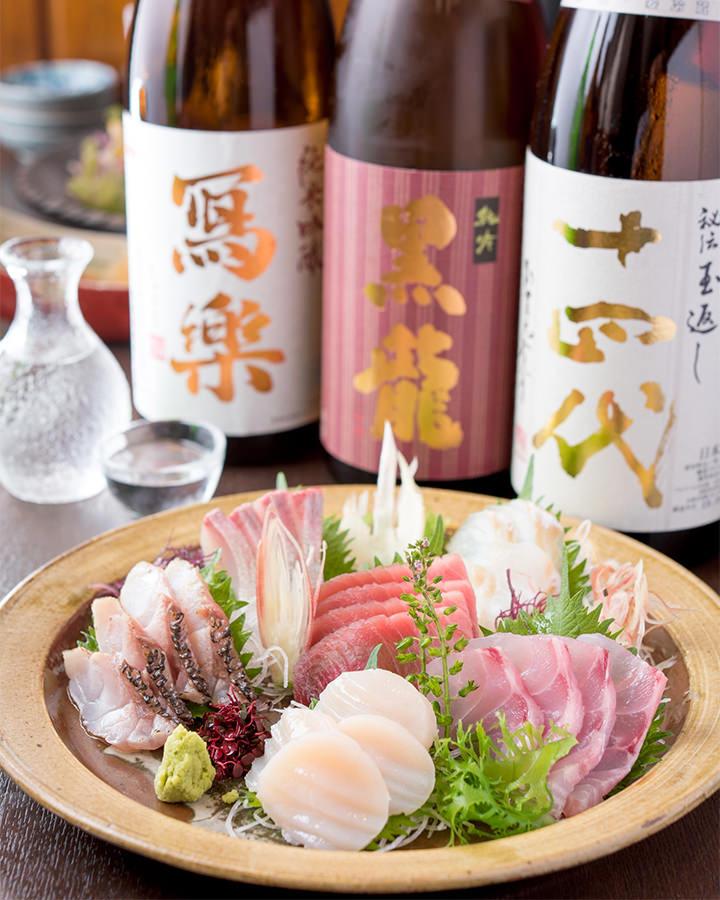 板橋/練馬_美味しいお酒と魚のお店 竹心_写真
