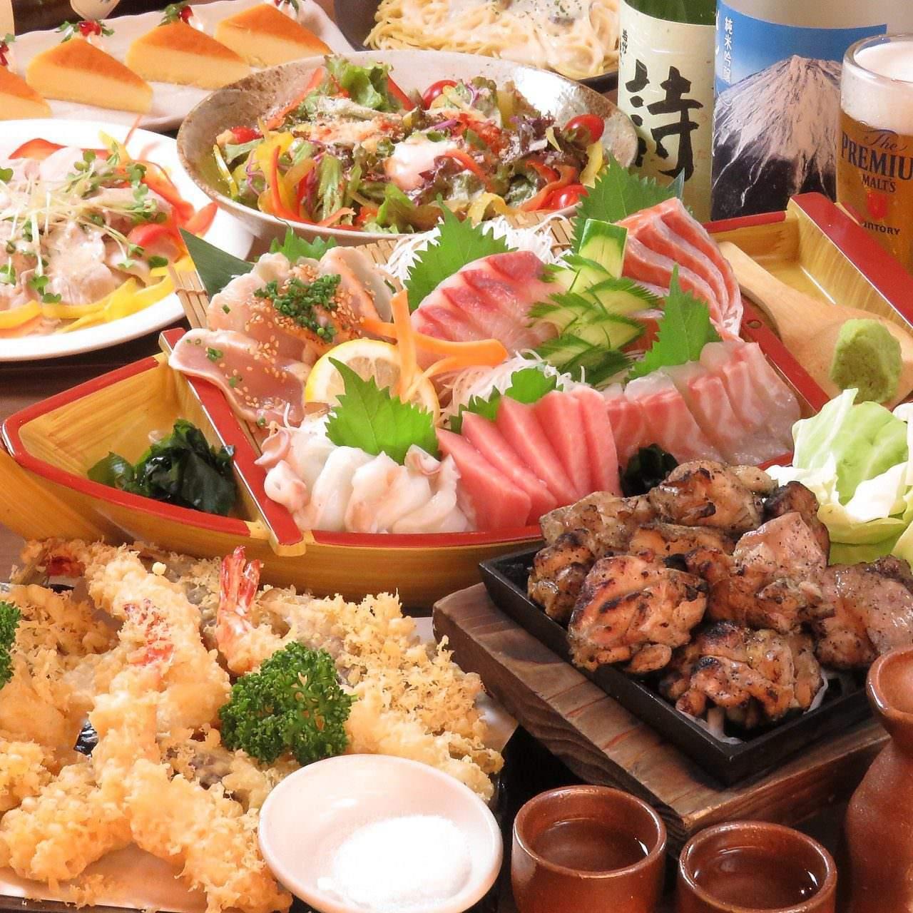 静岡駅周辺_海鮮と網焼き地鶏 鶏菜(とりさい) 静岡駅店_写真2
