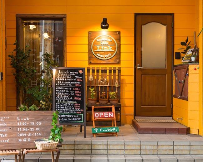 米子/境港_Restaurant Cafe Link_写真