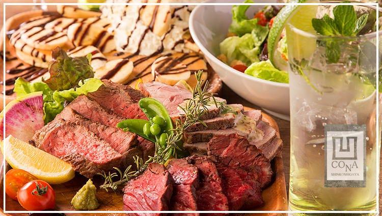 肉バル×500円ピザ30種 CONA 新越谷VARIE店のイメージ写真