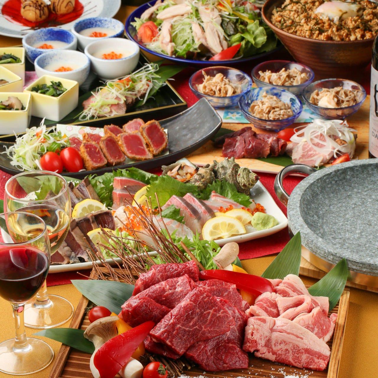 個室 肉炉端 弁慶 米子店のイメージ写真