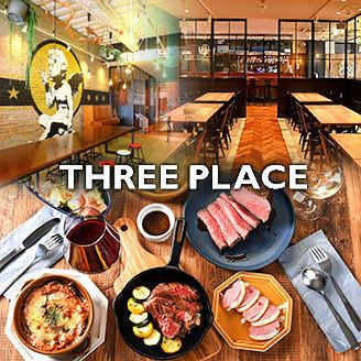 THREE PLACE -スリープレイス-名駅店のイメージ写真