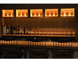 Whisky Bottle BAR DEN HIBIYA
