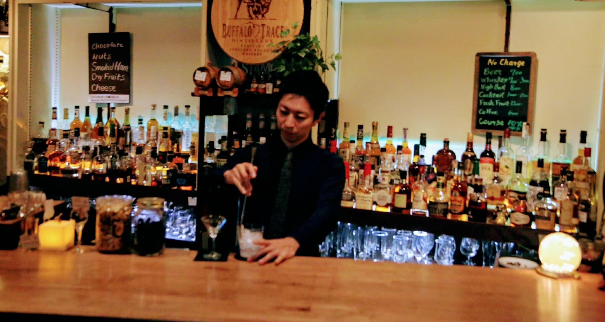 shot bar Bourbon Square