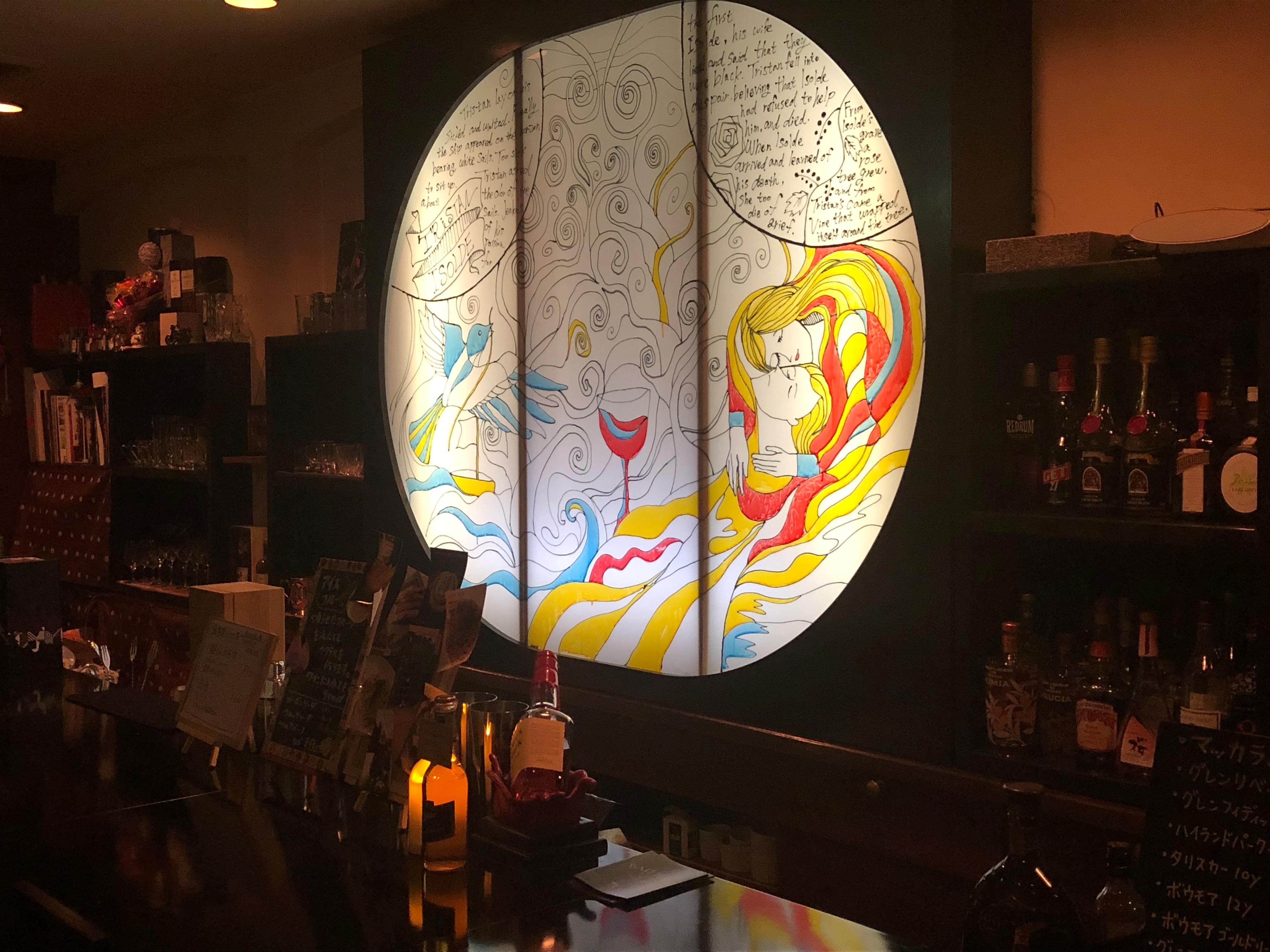 bar TRISTAN