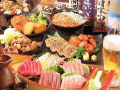 静岡駅周辺_海鮮と網焼き地鶏 鶏菜(とりさい) 静岡駅店_写真4