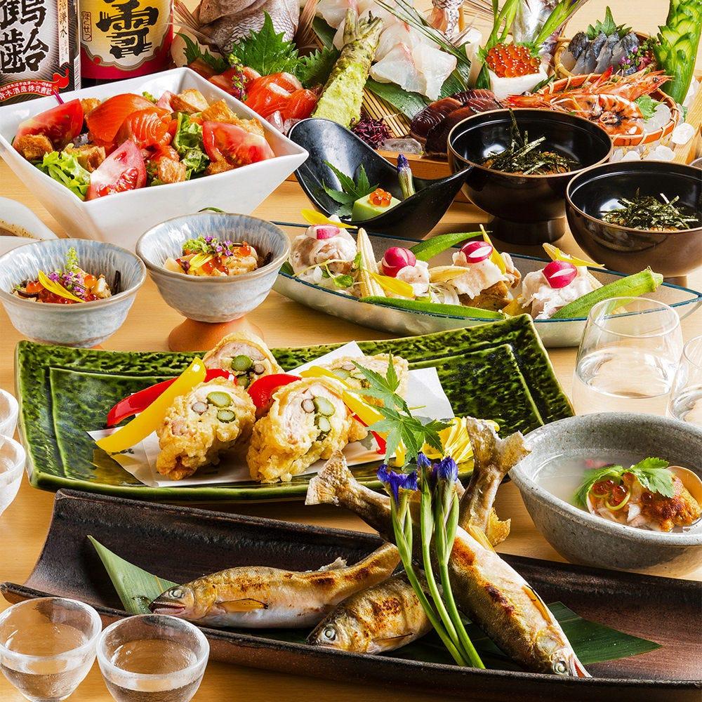 新橋/浜松町/三田_旬魚と個室居酒屋 和食りん 新橋店_写真3