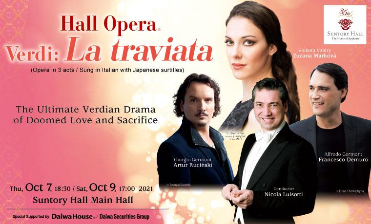 Hall Opera Verdi: La traviata