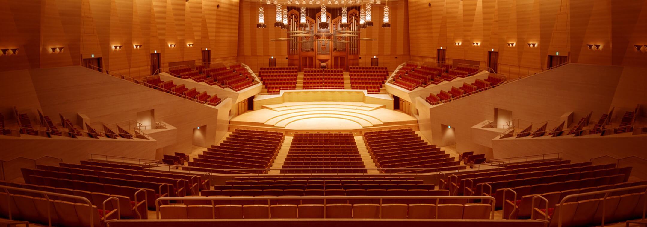 東京 文化 会館 大 ホール 座席