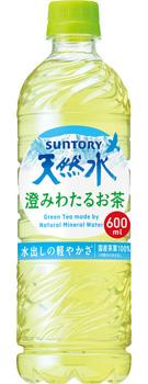サントリー天然水 澄みわたるお茶